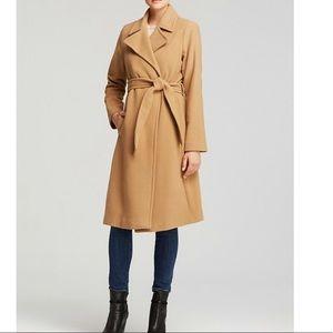 Lauren Ralph Lauren Wool Blend Wrap Coat Sz 2